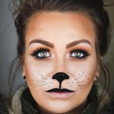 Halloween Makeup Design Simple Cat Face Makeup Sassy Cat Halloween Makeup Tutorial Youtube