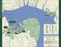 cumberland lake map park trail maps tennessee state parks