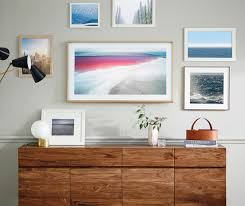 Picture Frame Wall by Samsung The Frame Tv Display Custom Art Fully Customizable Art Frame