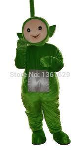 Teletubby Halloween Costumes Shop Jwup Green Teletubbies Costume Cartoon Mascot Costume