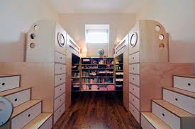 small kids room space saving multifunctional construction for a small shared kids