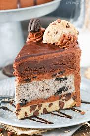 oreo brookie layer cake oreo chip cookies and layering