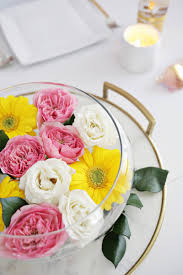 floating flowers easy floating floral arrangement diy a beautiful mess