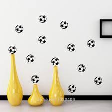 popular bedroom football wall stickers buy cheap bedroom football football wall sticker background bedroom carved pvc wallpaper for children room 10pcs lot 711