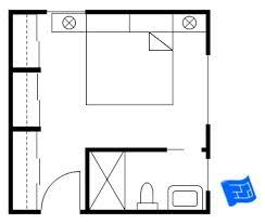 master bedroom plan master bedroom floor plan with the entrance into the