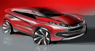 mitsubishi concept xr phev mitsubishi concept xr phev design sketch car body design
