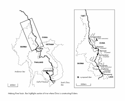 South America Rivers Map by Mekong Lancang River International Rivers