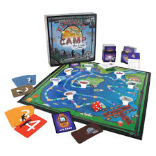 fishing camp game education outdoors eofc1 board games
