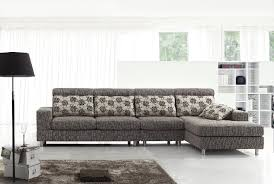 Gray Fabric Sectional Sofa Furniture Modern Grey Fabric Sectional Sofa With Chaise And