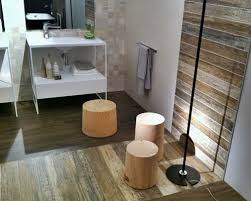 wood tiles bathroom houzz
