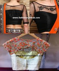 pattern of net blouse top 7 boat neck saree blouse designs fashionworldhub
