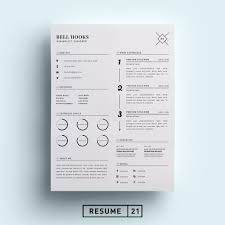 Design Resume Samples Minimal Designer Resume Template Cv Resume Templates Creative