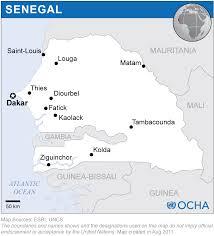 Dakar Senegal Map Senegal Reliefweb
