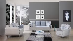 interior bedroom slate gray paint fashionable room with slate
