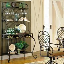 elegant bakers rack decorations furniture pinterest bakers