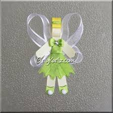 tinkerbell ribbon character hair accessories girly kurlz