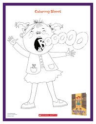 Mary Mcscary Coloring Scares