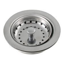 LDR   Duo Kitchen Sink Strainer Heavy Gauge Stainless - Stainless steel kitchen sink strainer