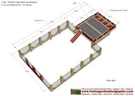 Chicken Coop Floor Plan Chicken Coop Layout With Inside Chicken Coop Plans 12927 Chicken