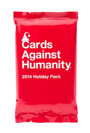 amazon com cards against humanity 2014 holiday pack toys u0026 games