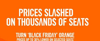 black friday sales on airline tickets easyjet black friday sale 2016 flights 30 off travelfree