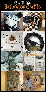 8 spooky chic halloween decor crafts sand and sisal