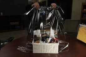 cello wrap for gift baskets steps to creating the gift basket from the land of kansas