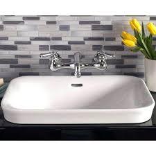 oval drop in sink drop in bathroom sinks oval self rimming drop in bathroom sink in