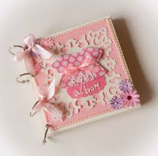 baby girl photo album a baby girl mini album