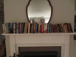 Mantel Bookshelf Living Room U2013 Let U0027s Face The Music
