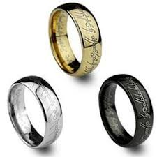lord of the rings wedding band lord of the rings gold color tungsten ring wedding band mens
