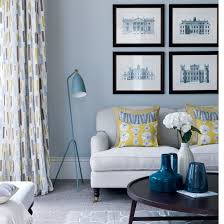 blue livingroom 69 fabulous gray living room designs to inspire you decoholic