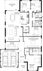 Single Story Floor Plans The Moore River Four Bedroom Home On Display Domain By Plunkett