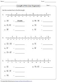 distance formula worksheets