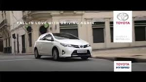 toyota hybrid toyota hybrid lovehybrid advert youtube