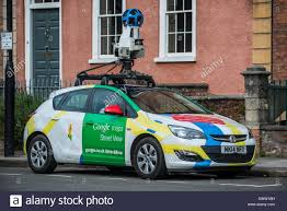 Street View Google Map A Google Street View Car On The Roads Of Bristol In The United