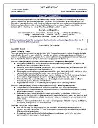 Professional It Resume Samples by Trainer Resume Example