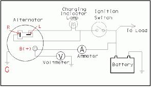 ford alternator wiring diagram internal regulator wiring diagram