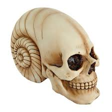 shop design toscano out of this world alien skull sculpture at