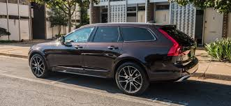 volvo the 2017 volvo v90 cross country a brown station wagon for the