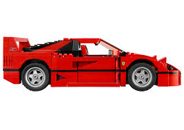 disney cars ferrari lego ferrari f40 announced iconic 1987 supercar u0027s blockbuster toy