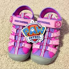 paw patrol light up sneakers 17 off nickelodeon other nib light up paw patrol skye everest
