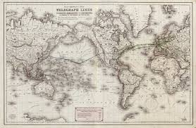 Old World Map Wallpaper by Bubnick Com Historic Undersea Cable Maps