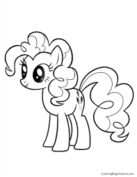 my little pony u2013 pinkie pie 02 coloring page coloring page central
