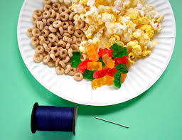 Popcorn Candy Necklace