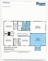 building a verona with ryan homes verona floor plan