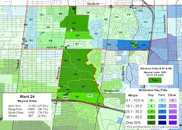 2014 Election Map by Mapping The 2014 Toronto Election Wards 23 And 24 Marshall U0027s
