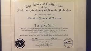 image gallery nasm certification