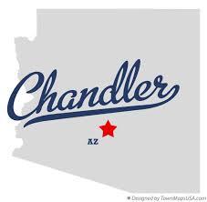 map of chandler az map of chandler az arizona