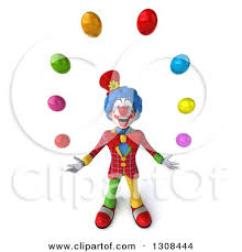 clowns juggling balls royalty free rf clown juggling clipart illustrations vector